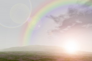はじまりの虹